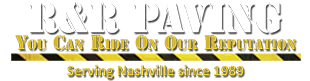Paving contractor of Nashville and Hendersonville